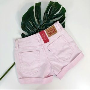 Levi's Shorts - Levi's NEW High Rise Wedgie Shorts Button Fly 27